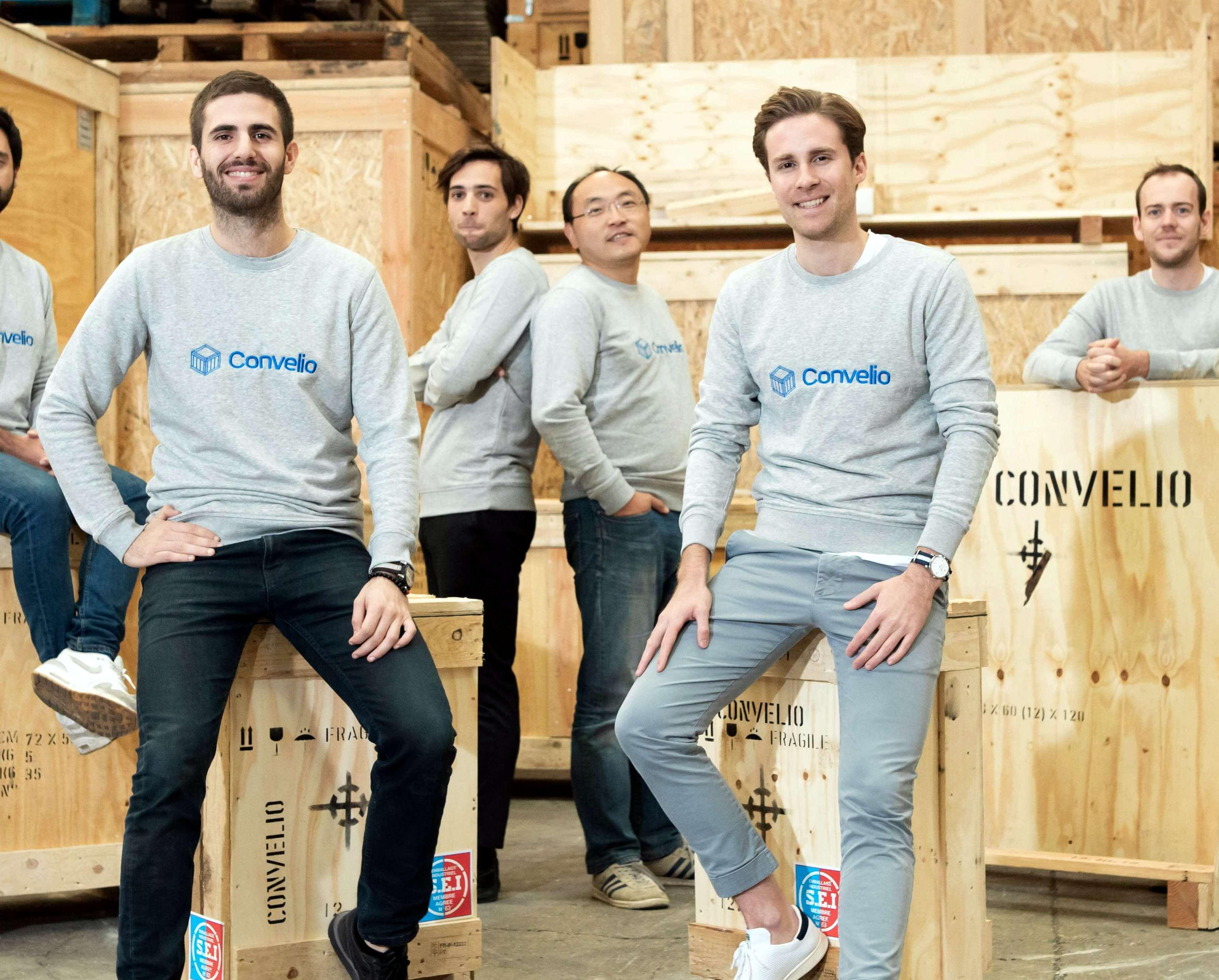 Logistics tech startup Convelio closes €9M ($10M) Series A funding round